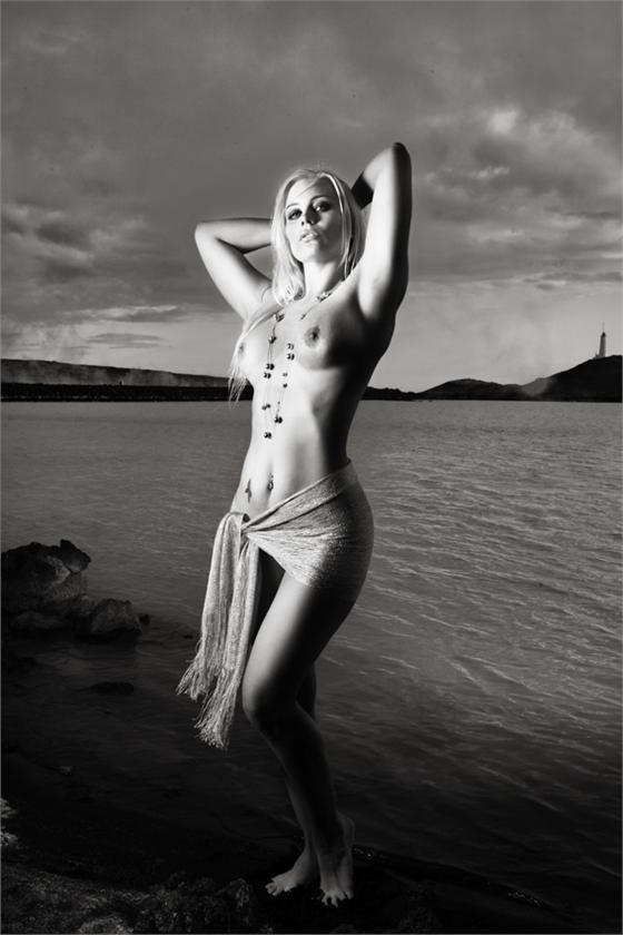 ERNA GUNNTHORSDOTTIR MODELLA ISLANDESE FOTO N.006