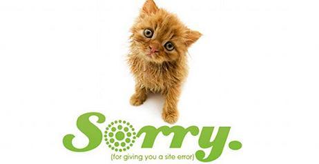 Errore 404 Page Not Found