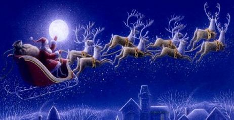 Percorso di Babbo Natale