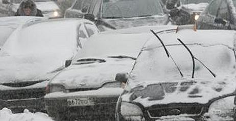 L'automobile in inverno