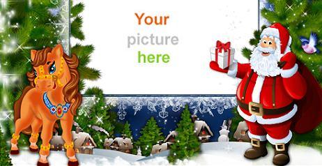 Cornici Natalizie Per Foto.Cornici Di Natale Per Personalizzare Le Foto