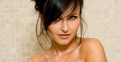 le foto sotto la doccia