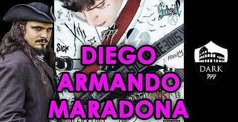 Diego armando maradona Dark polo gang