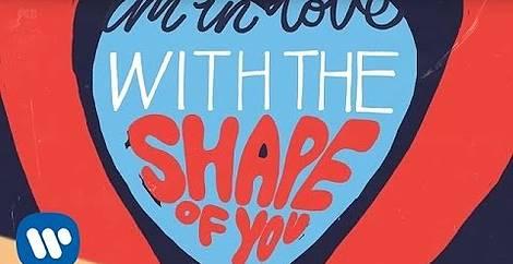 Shape of you Ed sheeran