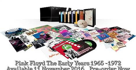 The early years 1967-72 cre/ation Pink floyd