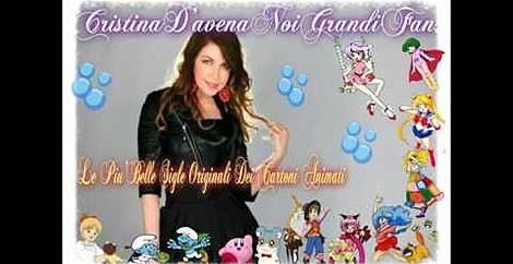 #le sigle piu  belle Cristina d avena