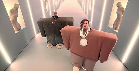 I love it Kanye west & lil pump
